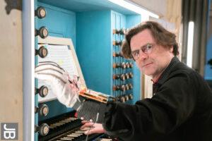 Franz Danksagmüller beim Konzert in Naumburg (Foto: Joachim Blobel)