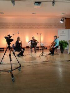 """Das Konzert """"Remember"""" fand in der Landesvertretung Sachsen-Anhalts in Berlin statt (Foto: Joachim Blobel)"""